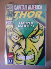 CAPITAN AMERICA & THOR n°2 1995 Marvel Italia  [G696]