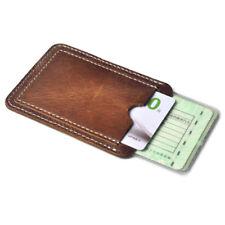 porta carte credito tessere patente soldi monete euro contante pelle badge ih