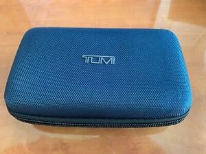 TUMI for Delta  Toiletries Travel Kit Bag with Amenities in Blue
