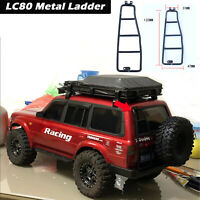 RC Car Body Metal Ladder for 1/10 Rock Crawler LC80 TRX4 SCX10 2 II 90046 JEEP