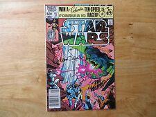 1982 MARVEL COMICS STAR WARS # 55 SIGNED 3X WALT & LOUISE SIMONSON & TOM PALMER