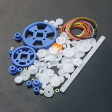 80pcs Gear Package Parts Sturdy Gear Assortment Set for Mechanical Model Toy Car