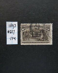1893 Colombian Exposition US Scott # 235 6 Cent VFU No faults.