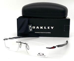 Oakley GAUGE 3.1 OX5126-0454 Polished Black / Demo Lens 54mm Eyeglasses