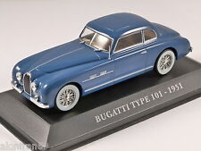 Die cast 1/43 BUGATTI TYPE 101  IT - CCC005