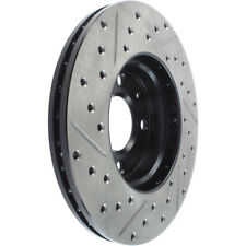 Disc Brake Rotor-Sport Drilled/Slotted Disc Front Left Stoptech 127.50015L