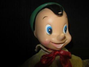Pinocchio rubber face doll
