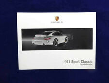 Prospekt / Buch / Katalog / Brochure Porsche 911 997 Sport Classic - 05/2009