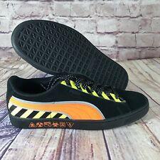 PUMA Hazard Suede Shocking Orange/Black 368231-01