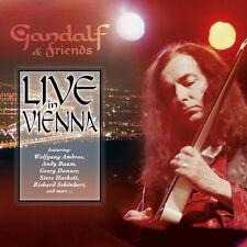 GANDALF & FRIENDS Live In Vienna CD+DVD NEU / New Age / Ambient / Guitar Music