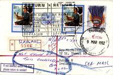 Papua New Guinea return to sender cover to Ireland (pc)