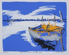Philippe LE MIERE - 'Nature Boat Scenery Seascape Beautiful' - original signed