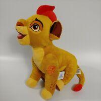 Disney Parks Lion Guard Kion Plush Stuffed Animal Simba's Son Red Hair 14''