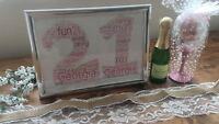 Personalised Birthday Keepsake Gift 16th 18th 21st 30th 40th 50th 60th 70th