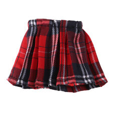 """1/6 Scale Mini Plaid Skirt Dress 5.5cm for 12"""" Action Female Body Toys A"""