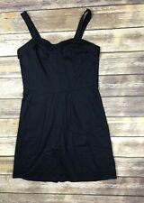 Richard Chai for Target Sheath Dress Size 13 Black Sleeveless Stretch