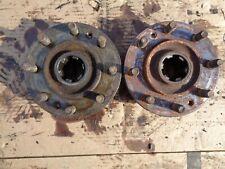 Ford Tractor Jubilee Rear Axle Hubs Left & Right W/Wheel Mount Studs