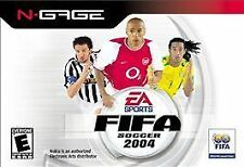 FIFA SOCCER 2004 NOKIA N GAGE NEW FACTORY SEALED READY FOR YOUR COLLECTION