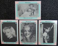 1993 MARILYN MONROE BIRTH OF A LEGEND PROMO/PROTOTYPE CARD SET 100P-103P - RARE!