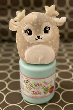 "Scented Squishmallow 4"" Fawn Deer Willow Justice NEW in Mystery Capsule"
