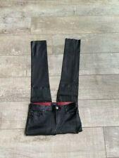 Diesel leather pants size 28 lambskin