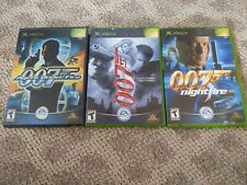 Vintage Xbox James Bond 007: Everything or Nothing Nightfire Agent Under Fire