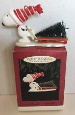 Hallmark Keepsake Christmas Ornament A Tree For Snoopy 1996
