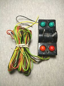 AC Gilbert American Flyer 720A Switch Controller w/ Wire - Untested ~ TS