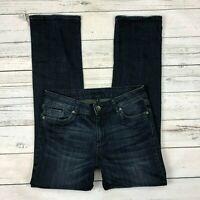 Kut From The Kloth Jeans Size 6 Womens Dark Wash Straight Denim Stretch KP601MA2