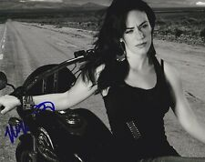 Maggie Siff signed Sons of Anarchy 8x10 photo