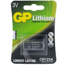 1 x GP Lithium DL123A CR123A 123 Photo Battery CR17345 DL123A