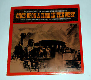 ONCE UPON A TIME IN THE WEST Orig SOUNDTRACK ENNIO MORRICONE LP USA NEAR MINT