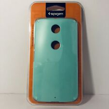 Authentic Spigen SGP11234 Google Motorola Nexus 6 Case Thin Fit Mint New