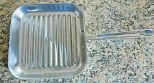 """ALL-CLAD Stainless 11"""" Square Grill Pan"""