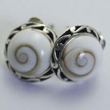 Nice Thailand Shiva Eye Earrings 925 Sterling Silver Pretty  th_sens