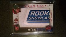 Panini Prime 2013-14  Showcase Logo Patch#1/2 MATT DUMBA, Minnesota Wild