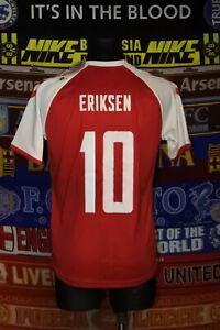 BNWT Denmark adults S 2021 #10 Eriksen MINT home football shirt jersey soccer
