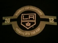 Authentic Los Angeles Kings Because its the Cup T-shirt  NHL