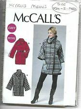 McCalls Sewing Pattern M6445 Ladies Unlined Jacket Size 6-14 UNCUT