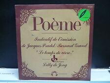 LETTY DE JONG Poeme indicatif JACQUES PRADEL / BERNARD GRAND Le temps de vivre