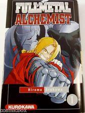 Manga FULLMETAL ALCHEMIST tome 1 Kurokawa éditions en Français VF full metal tbe