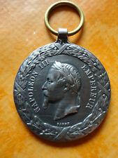 Médaille Napoléon III expédition du Mexique (reproduction) *