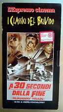 VHS A 30 SECONDI DALLA FINE  I classici del brivido - L'Espresso cinema