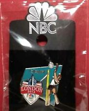 Olympic Sponsor Pin~Media~NBC~London~2012~Beach Volleyball~Slider~Shield~Big Be