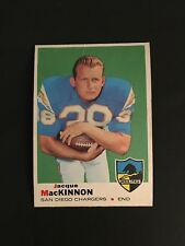 1969 TOPPS FOOTBALL  #202   JACQUE  MACKINNON    VG