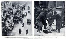 Para suffragettensturm en el parlamento de londres grabaciones históricas de 1910