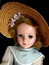 """17"""" Jointed Hard Plastic Doll unmarked early Sweet Sue A C Very Nice 1950's"""