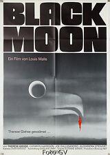 Black Moon   Luna Nera Louis Malle Joe Dallesandro ORIG. Movie POSTER Camp. S