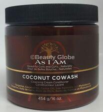 as I Am Coconut CoWash Cleansing Conditioner 16oz 454g