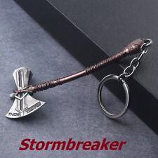 Marvel Avengers Thor's Axe Stormbreaker Keychain Pewter Metal Keyring Cosplay